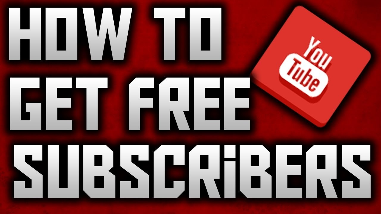 free youtube subscribers